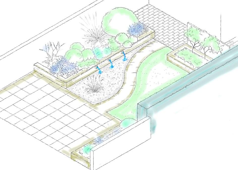 vom gartentraum zum traumgarten gartenplanung online. Black Bedroom Furniture Sets. Home Design Ideas